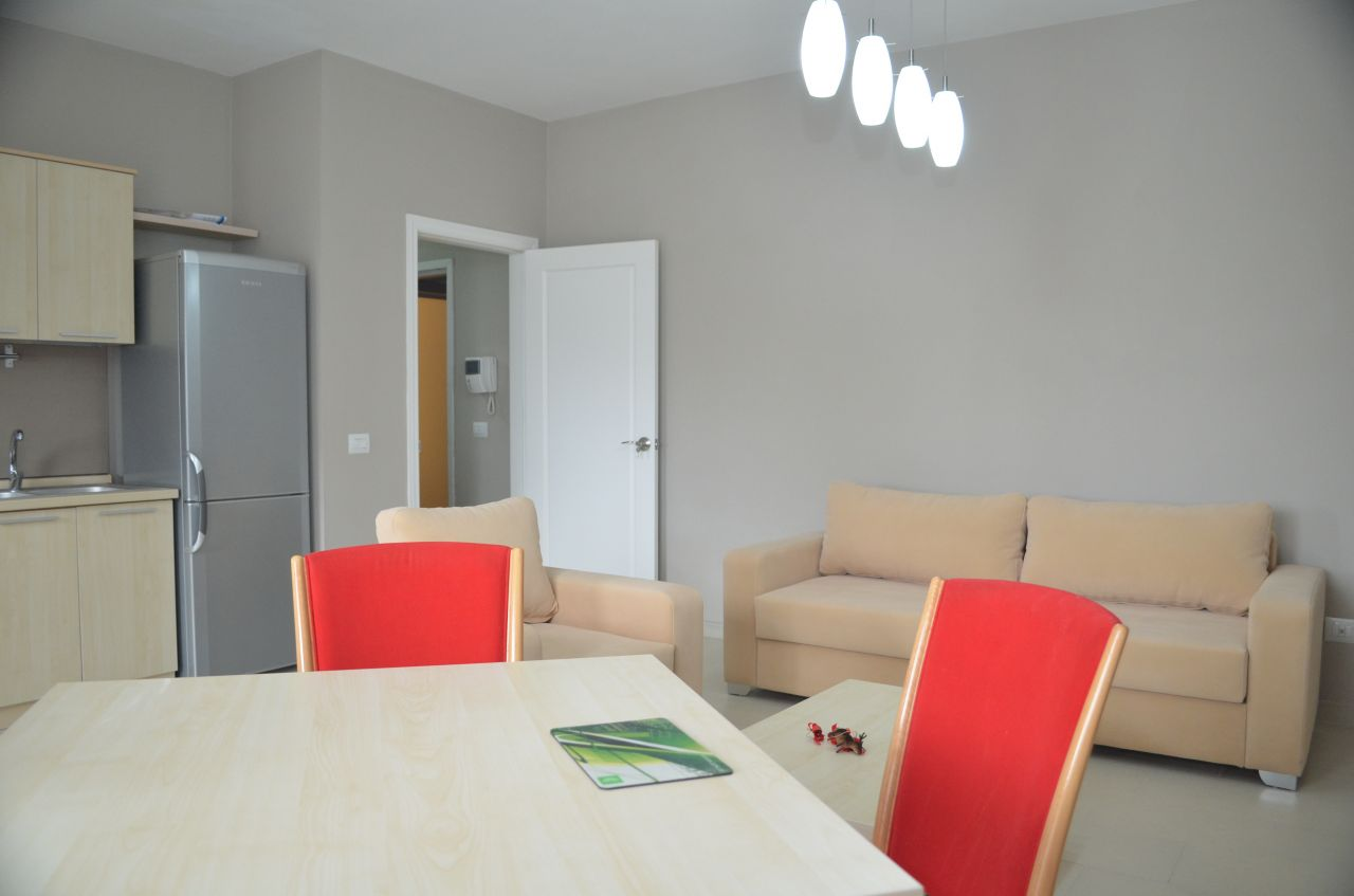 One Bedroom Apartment for Rent in Tirana. Located near Kavaja Street