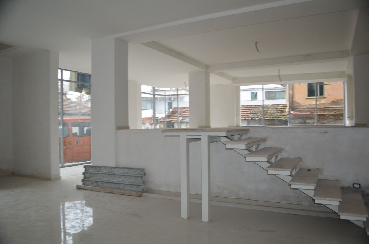 Commercial area for rent in Tirana.