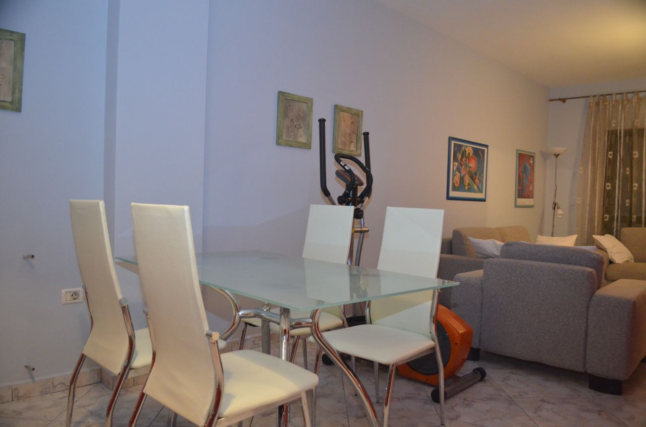 Flats for rent in Tirana, the capital of Albania. The apartment is located in a Central location.