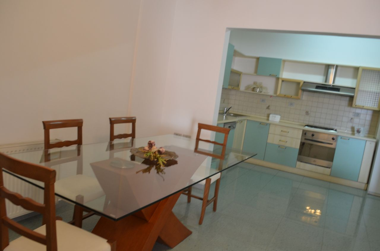 Tirana Rental Apartment For Rent in Albania Tirana, with two bedrooms and fully furnished near italian embassy