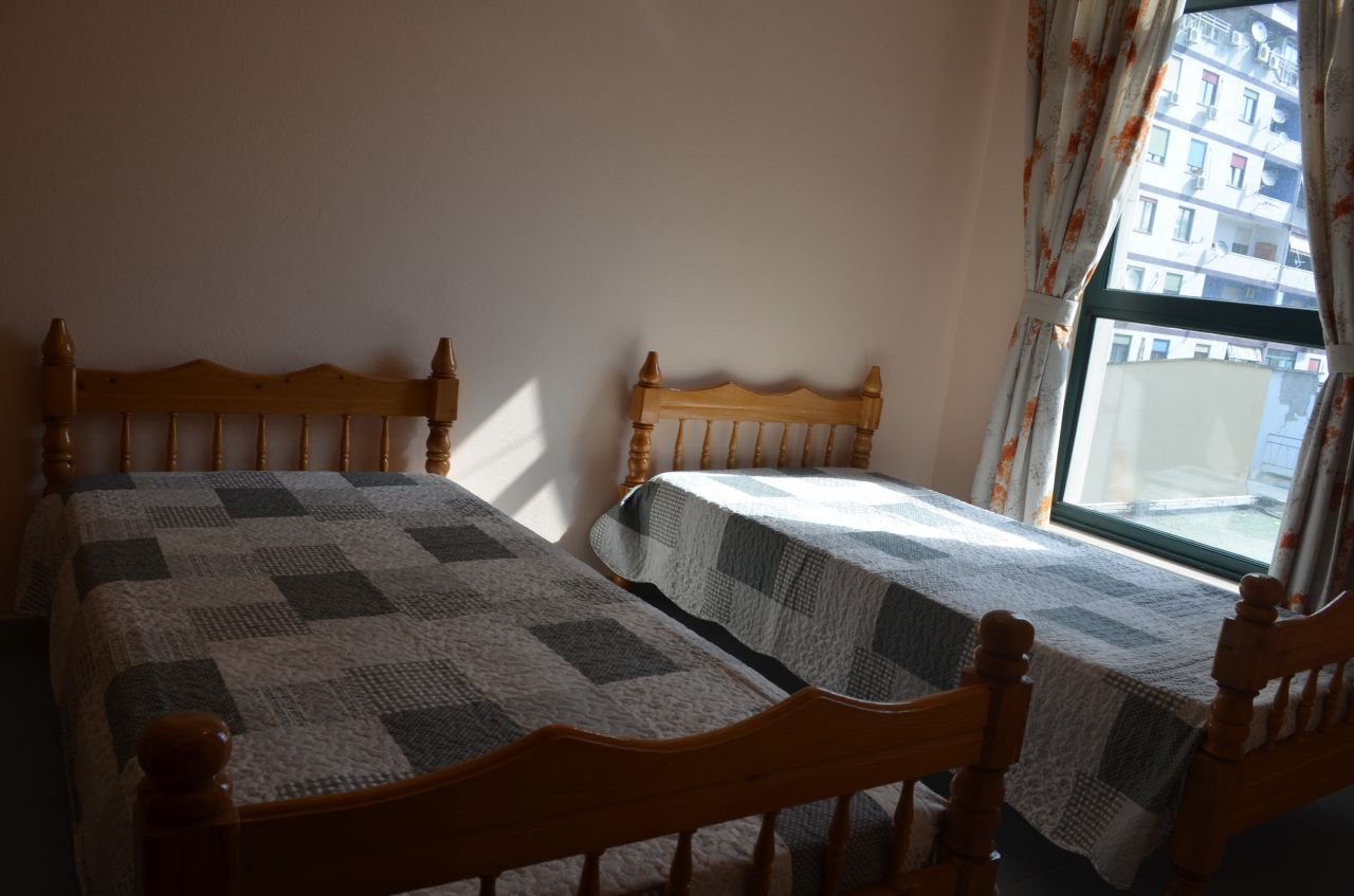 Two Bedrooms Apartment in Tirana For Rent in Albania