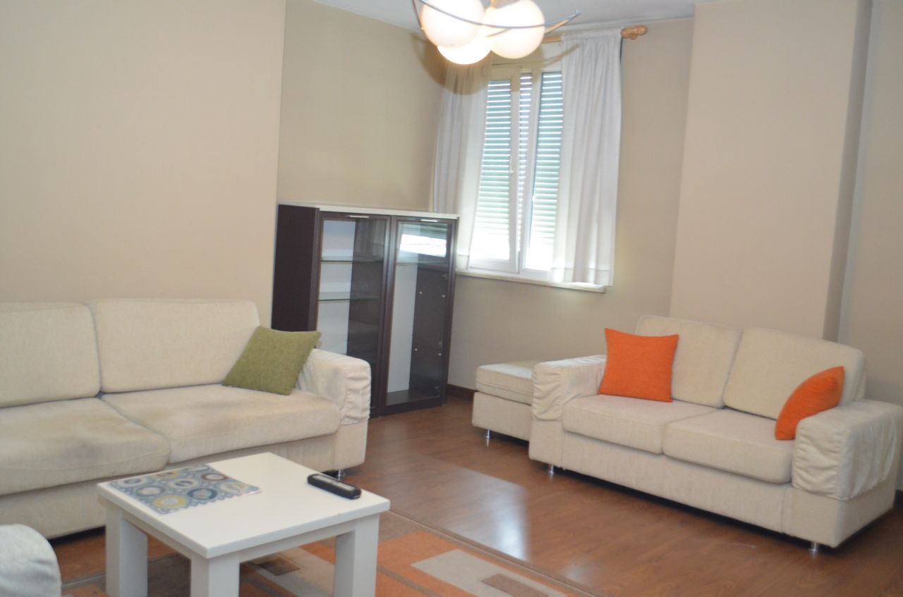 Three Bedroom Apartment in Tirana for Rent. Located near the River near Blloku Area