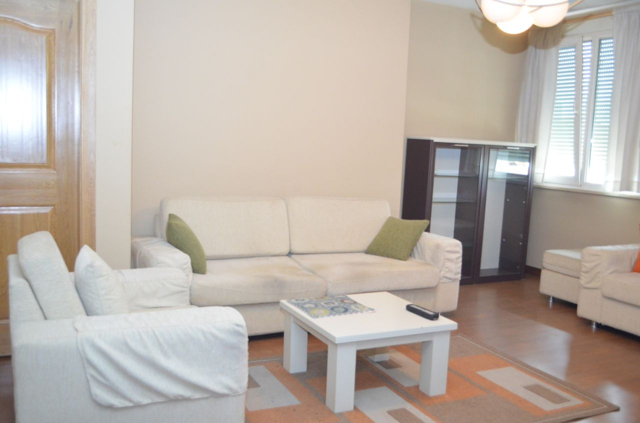 Rent in Albania an apartment in Tirana, very close to the center of the city.