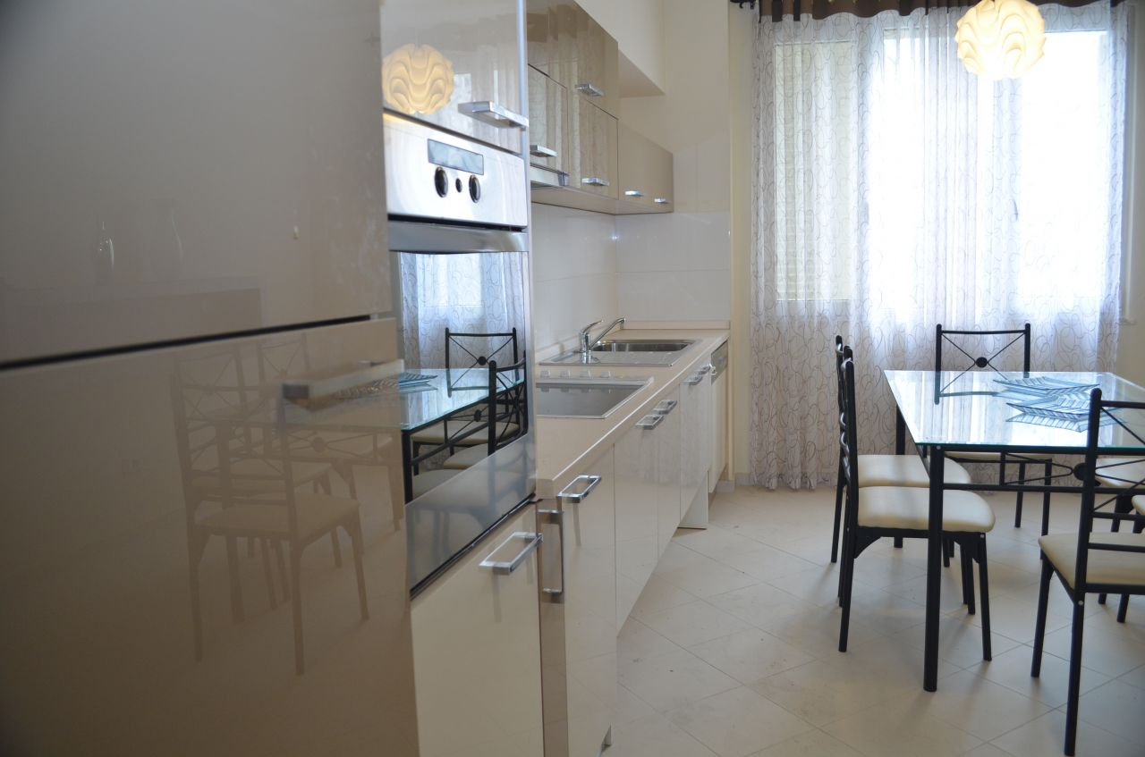 Three Bedrooms Apartment in Tirana for Rent in Kodra e Diellit