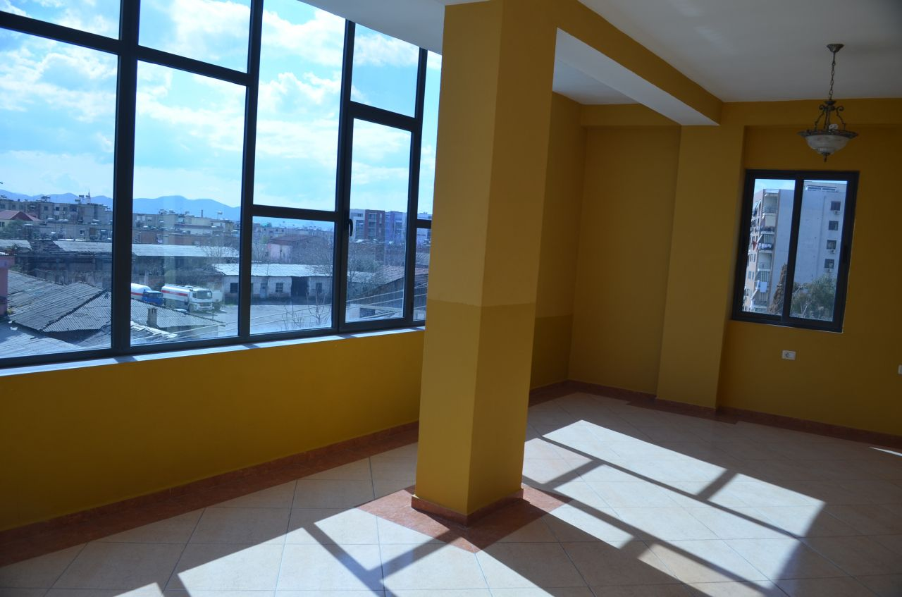 Building for commercial use, for rent in Tirana, Albania. Commercial space available.
