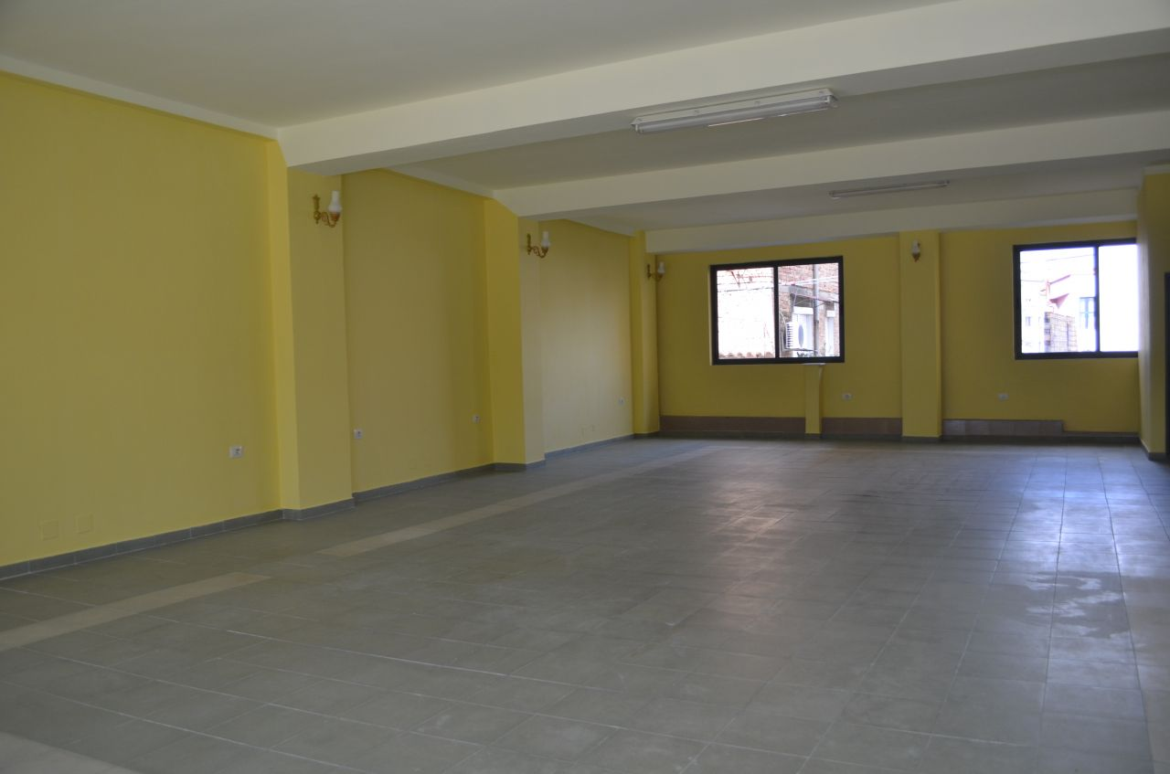 Building for rent in Tirana city, Albania.