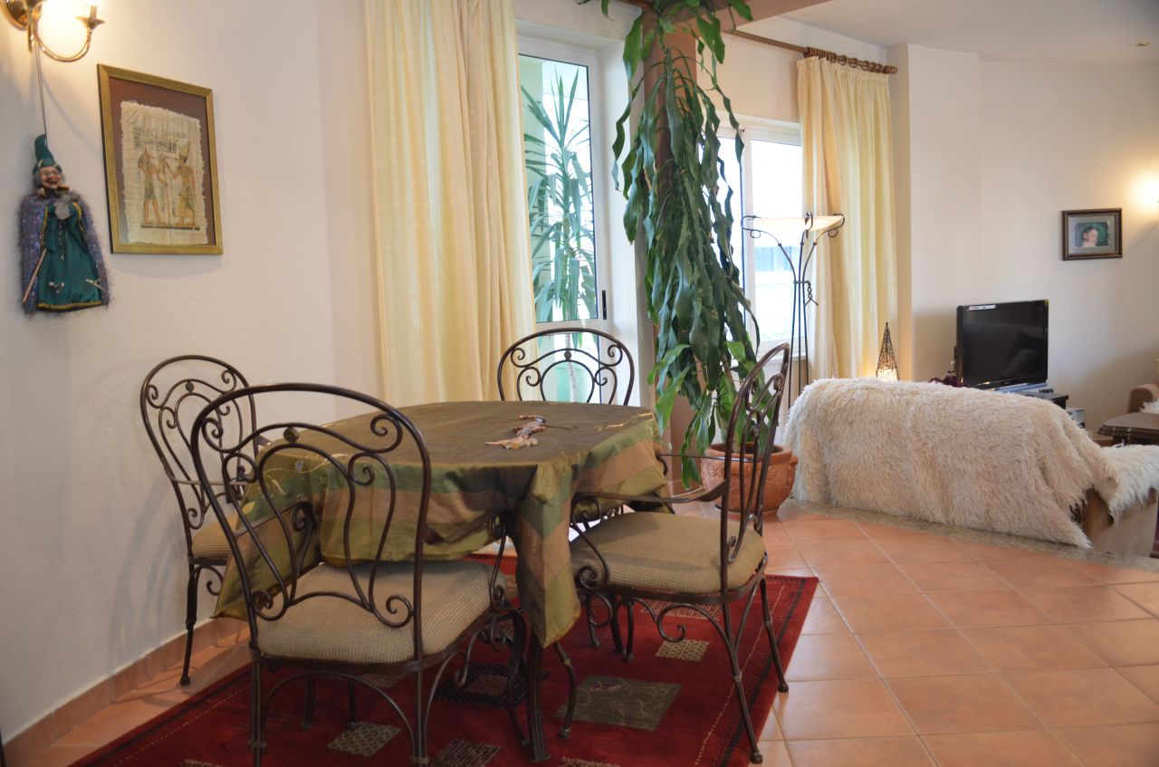 Villa with a big garden and fully furnished for rent in Tirana city located near the artificial lake.