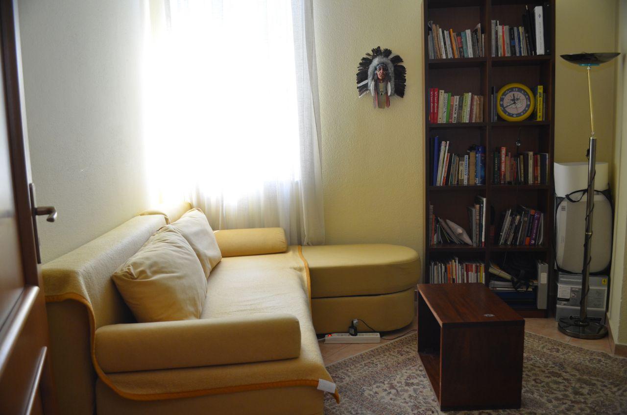 Villa for rent in Tirana, Albania.