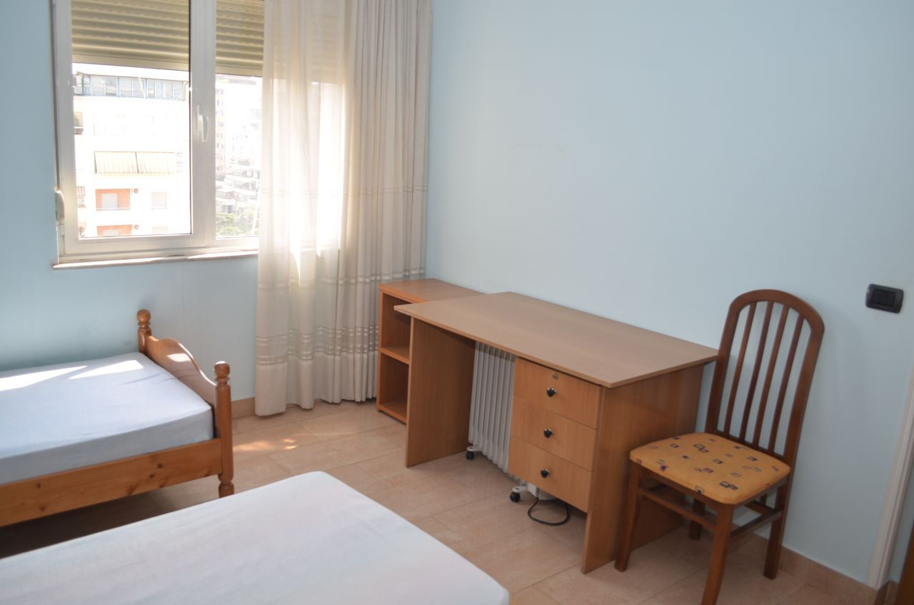 Flats for rent in Tirana, Albania, central location at Blloku area.