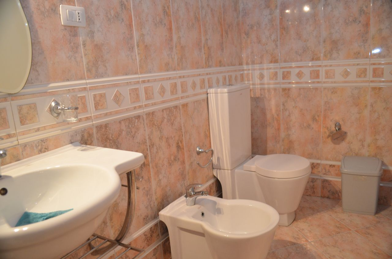 Fully furnished two bedrooms apartament for rent in Tirana, Albania.