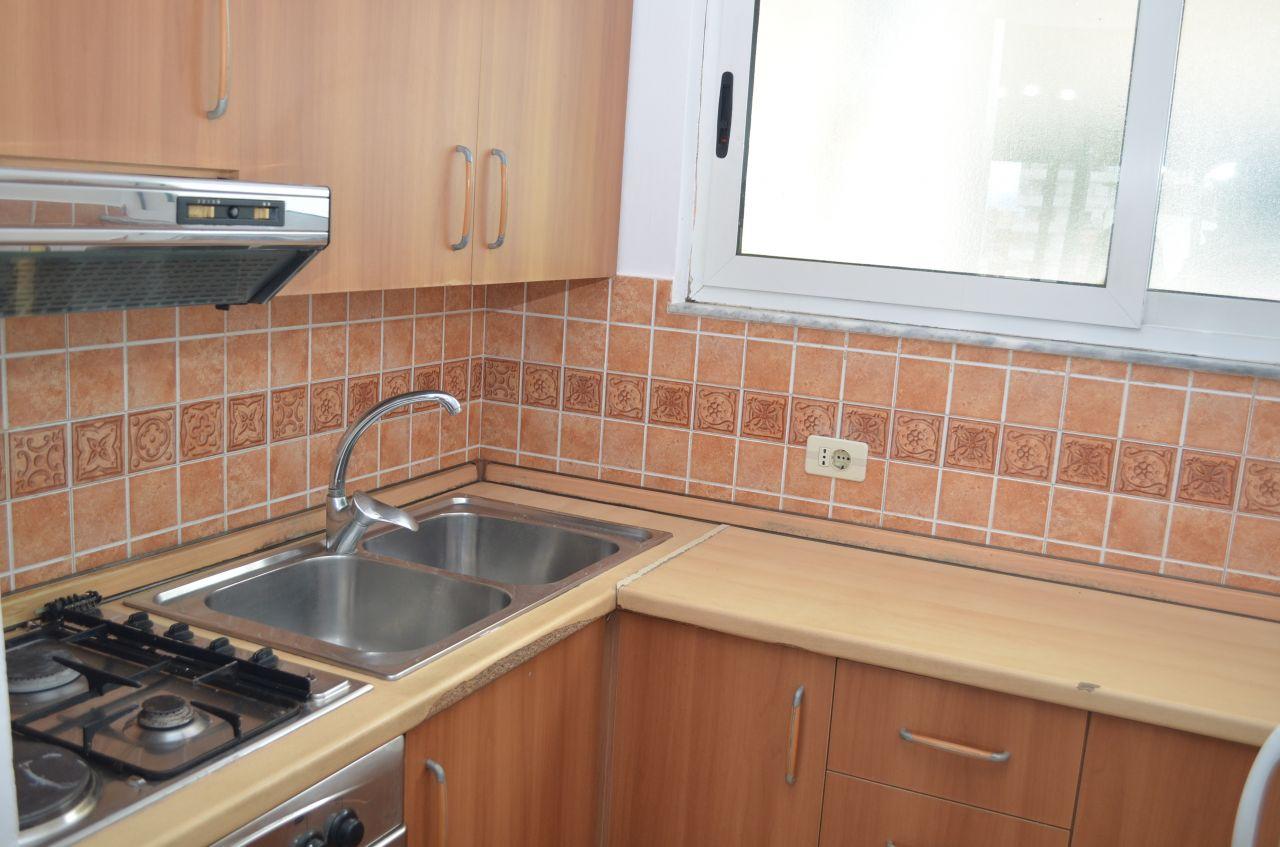 Convenient apartment for rent in Tirana, in Him Kolli Street, near Kavaja Street.