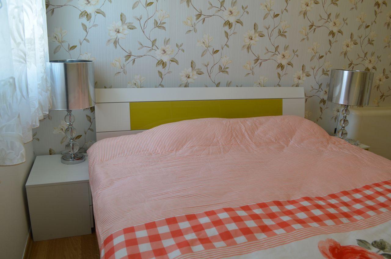 Three bedroom flat for rent in Tirana in a very nice area of the capital city, at Sami Frasheri Street