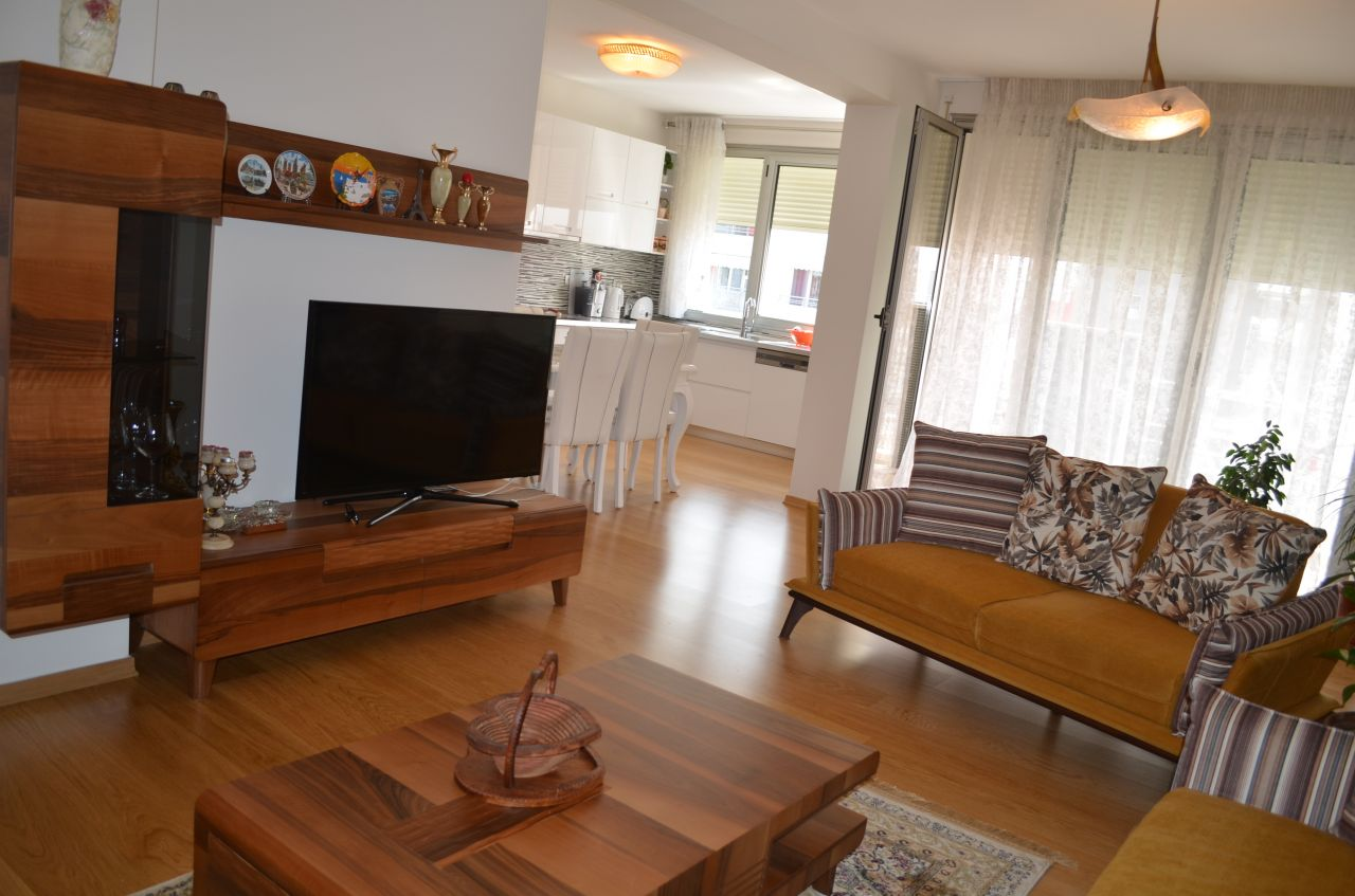 Three Bedroom Apartment for Rent in Tirana near the Lake