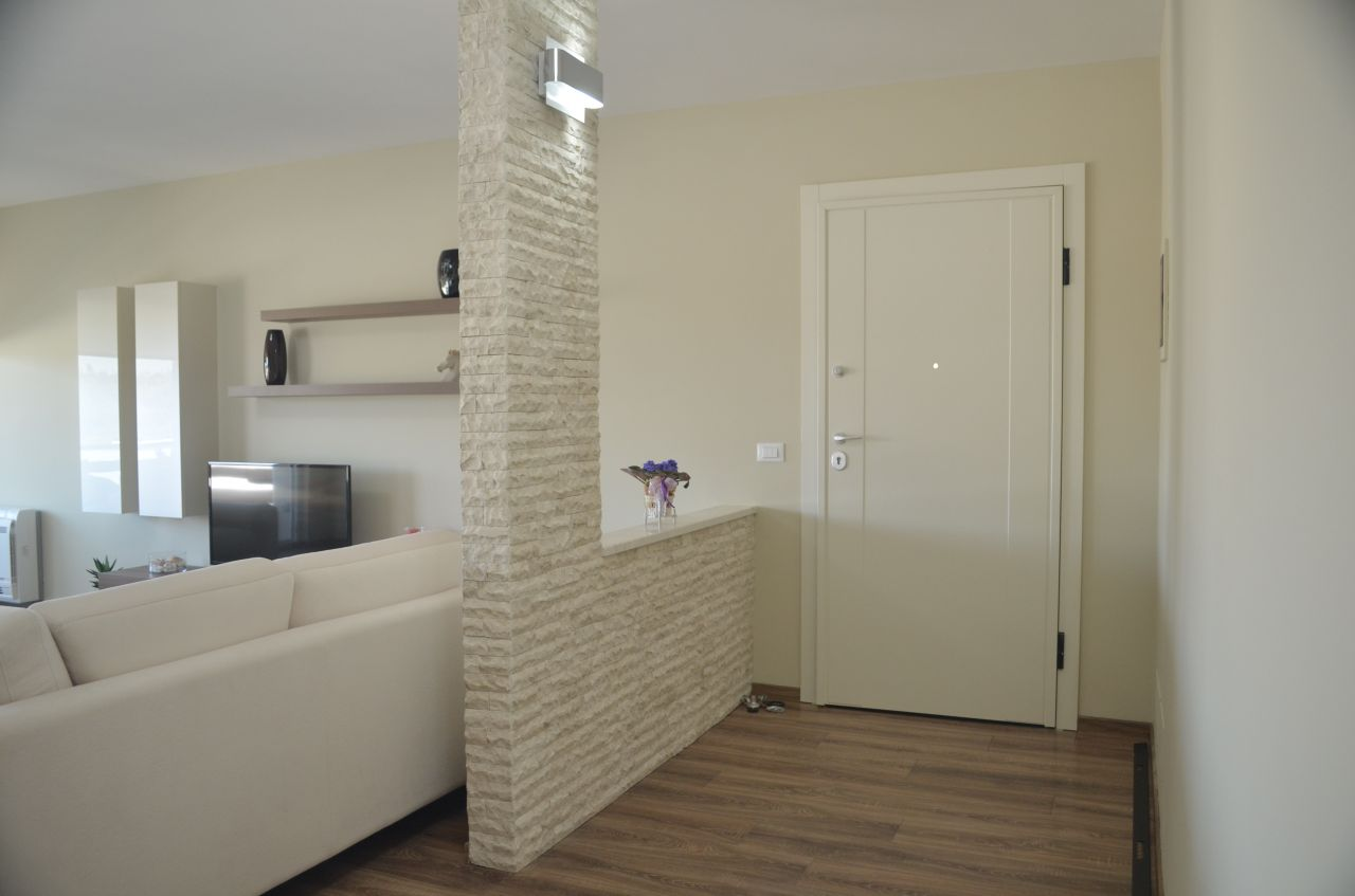 Apartment for Rent in Tirana with Two Bedrooms