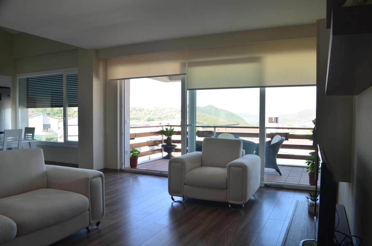 beautiful apartment for rent in long hill residence in tirana albania