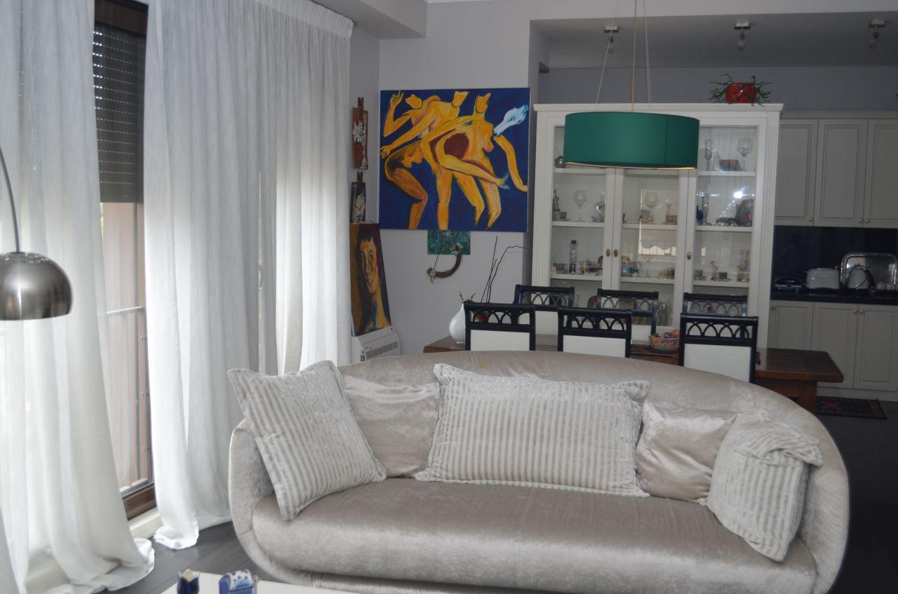 Modern apartment in a perfect area in capital Tirana