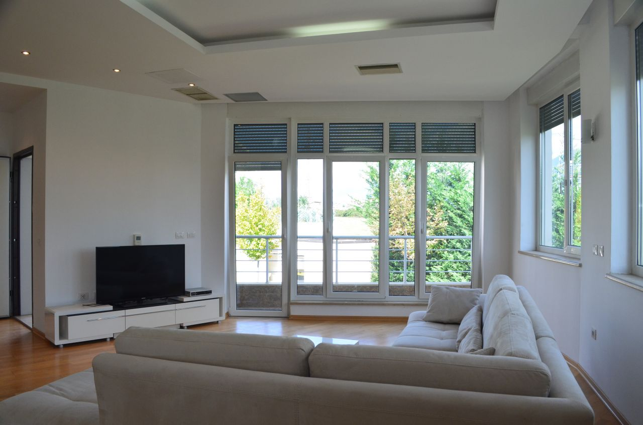 Villa for Rent in Tirana. Albania Real Estate for Rent