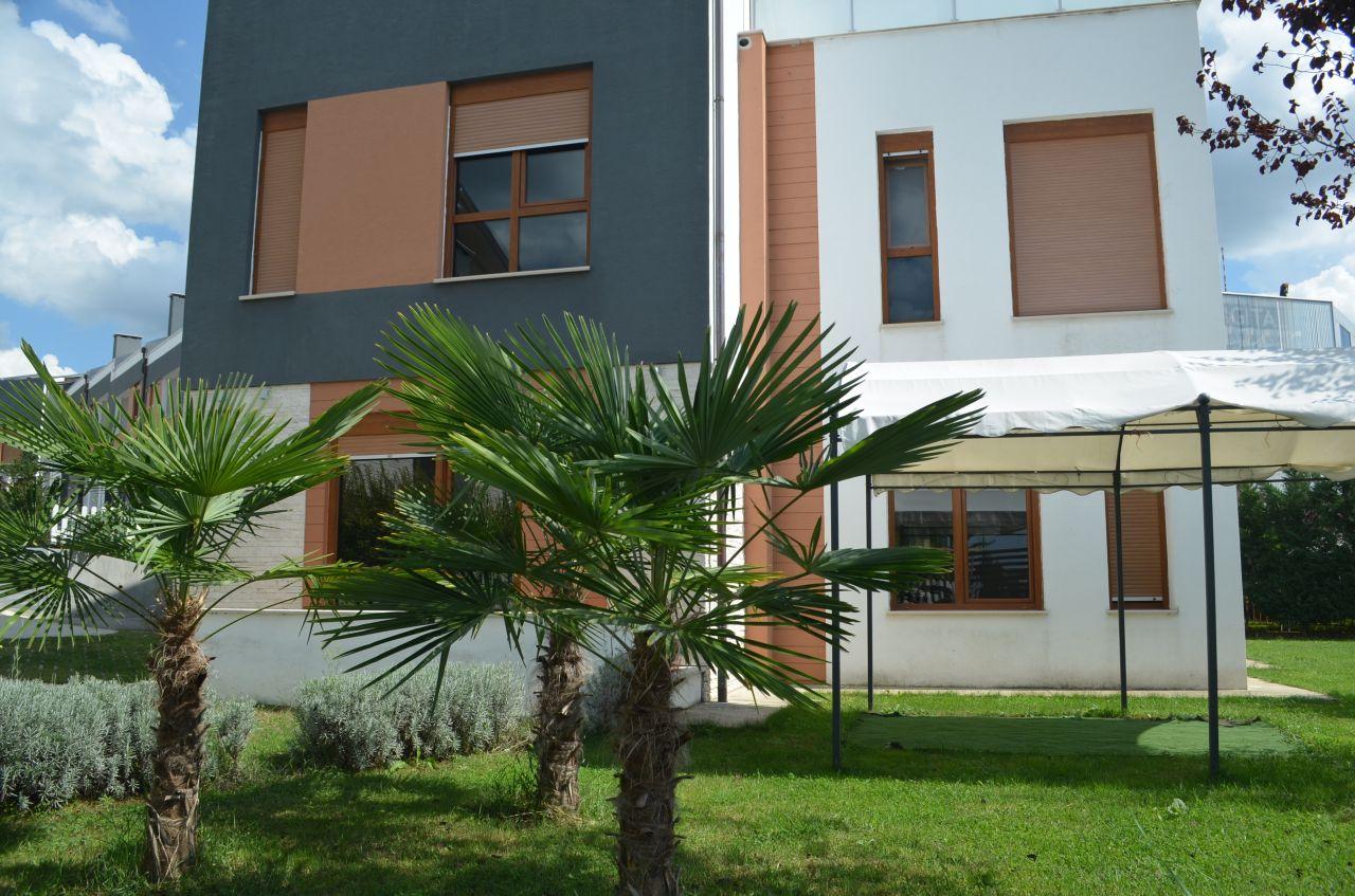Wonderful villa in Tirana. Albania Real Estate for rent.