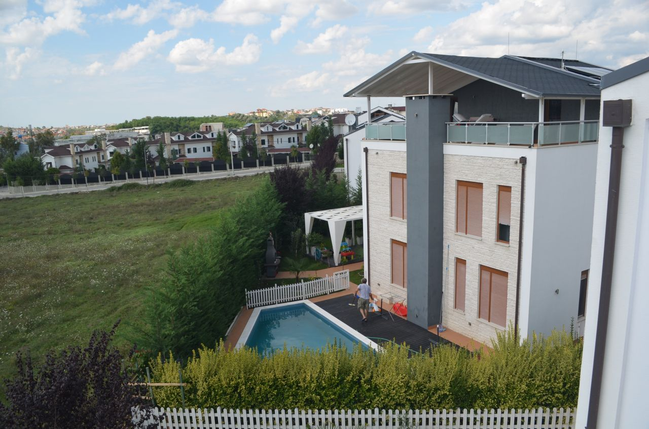 Villa for rent in Tirana city, Albania. Real Estate Property for Rent.