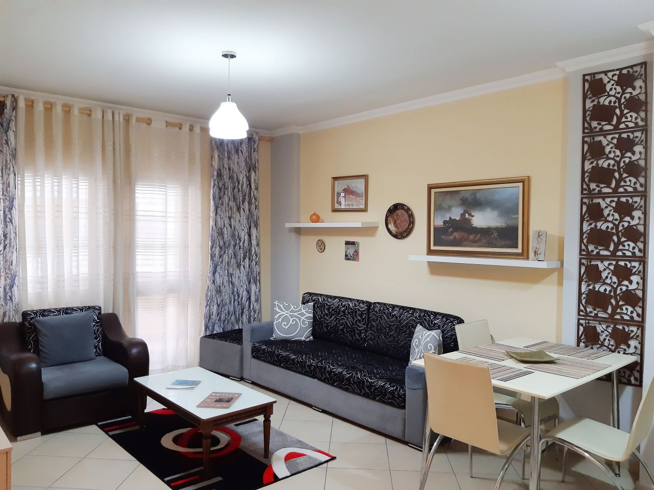 Rent Apartment In Tirana With One