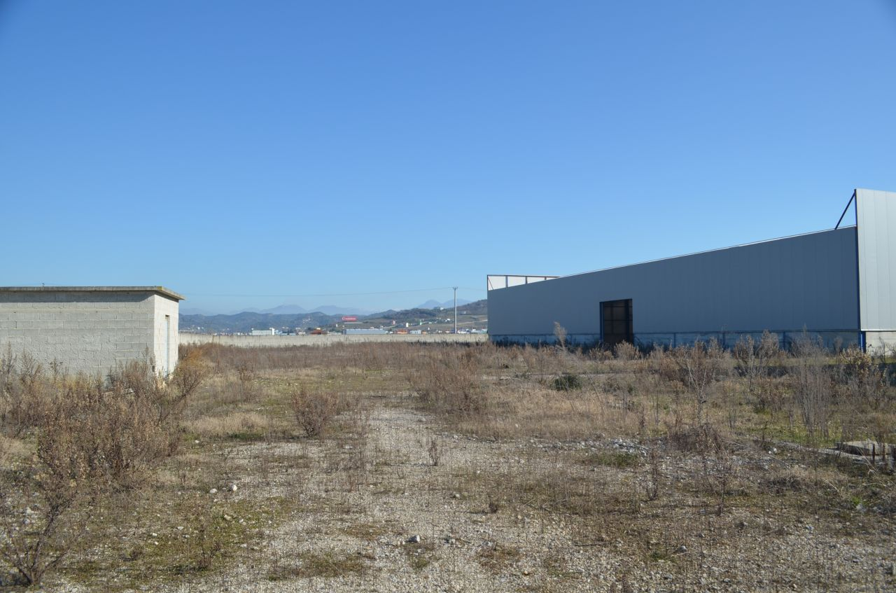 Warehouse for Rent near Durres. Warehouse for Rent in Albania