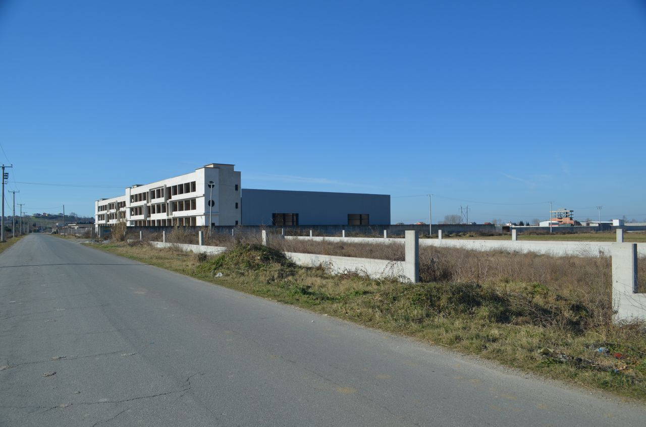 big warehouse near tirana