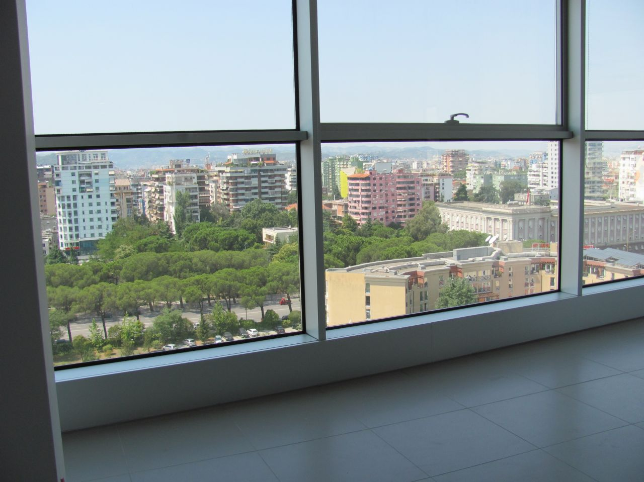 Office space for Rent in a prestigiuous area in Tirana, the capital of Albania.