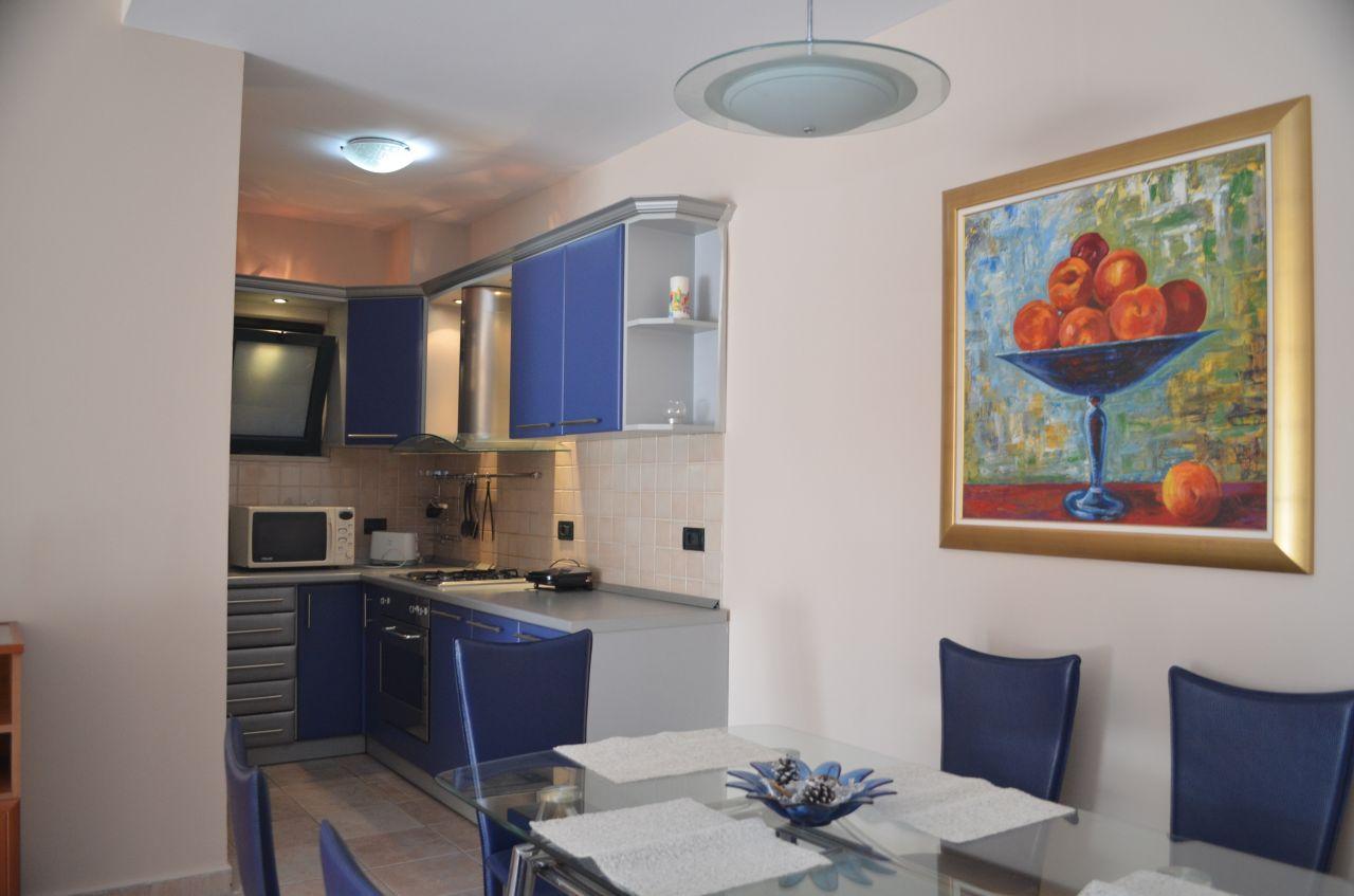 Apartament 2+1 me Qera ne Tirane. Apartament me Qera ne Bllok