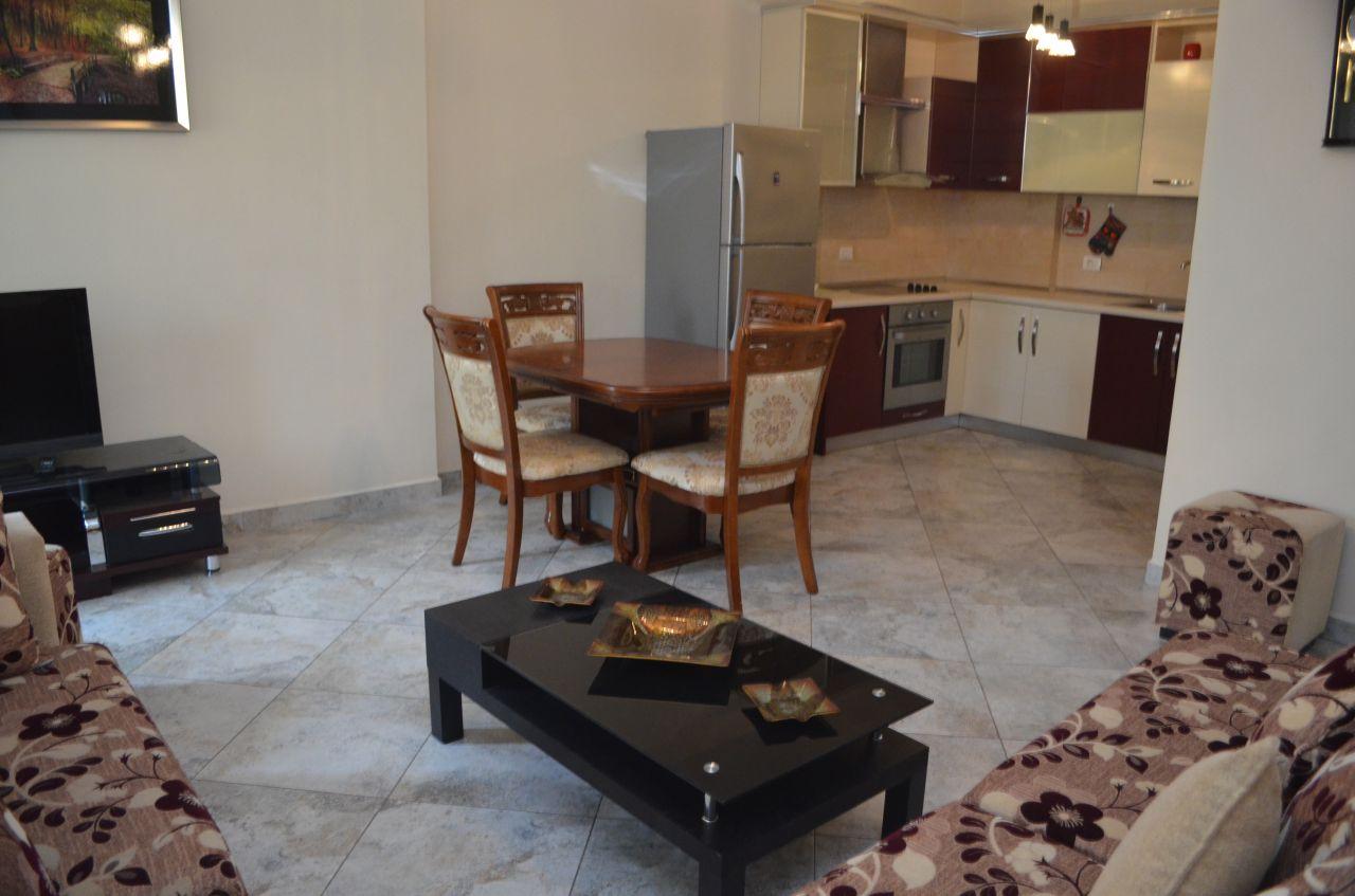 Tirana rentals, Apartment for rent in Myslym Shyri Street, very central location.