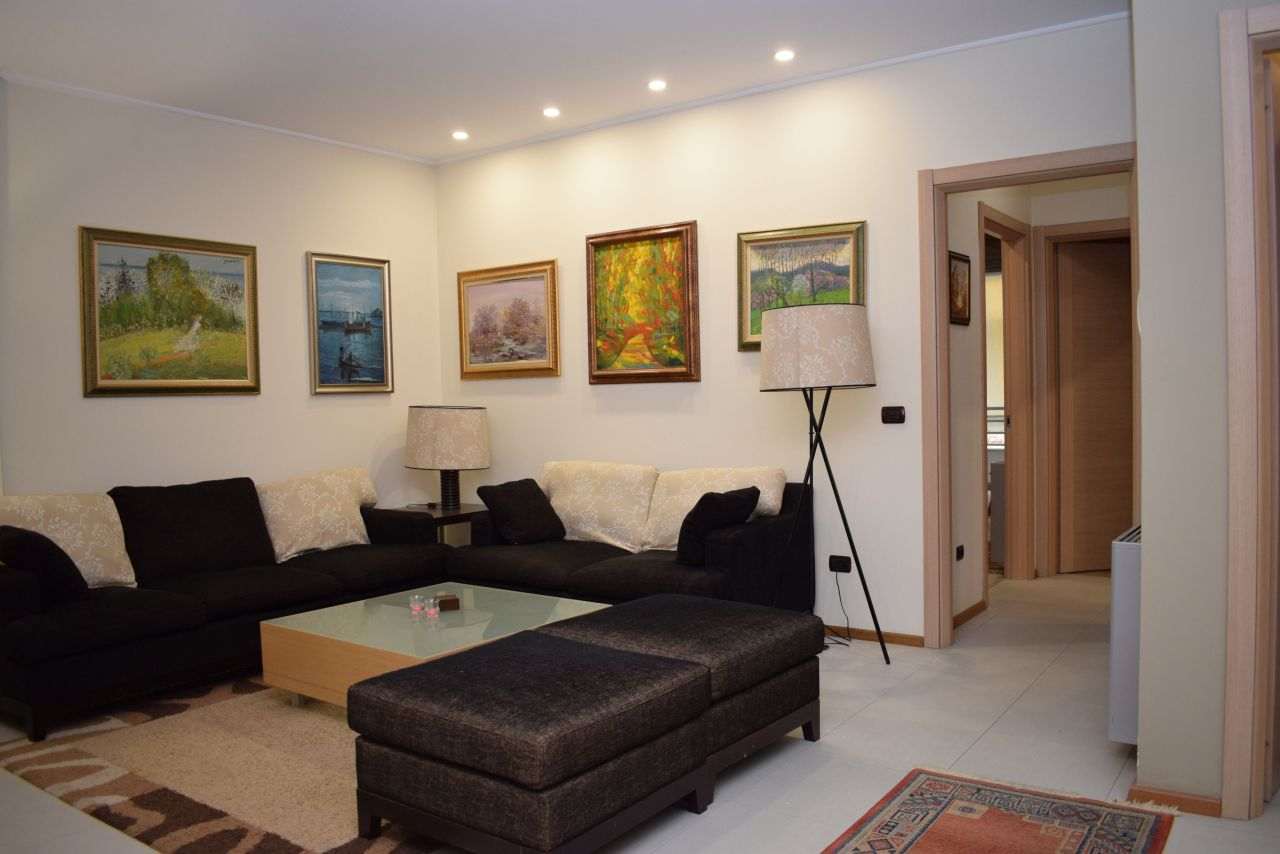 apartment for rent in tirana with two bedrooms and two bathrooms