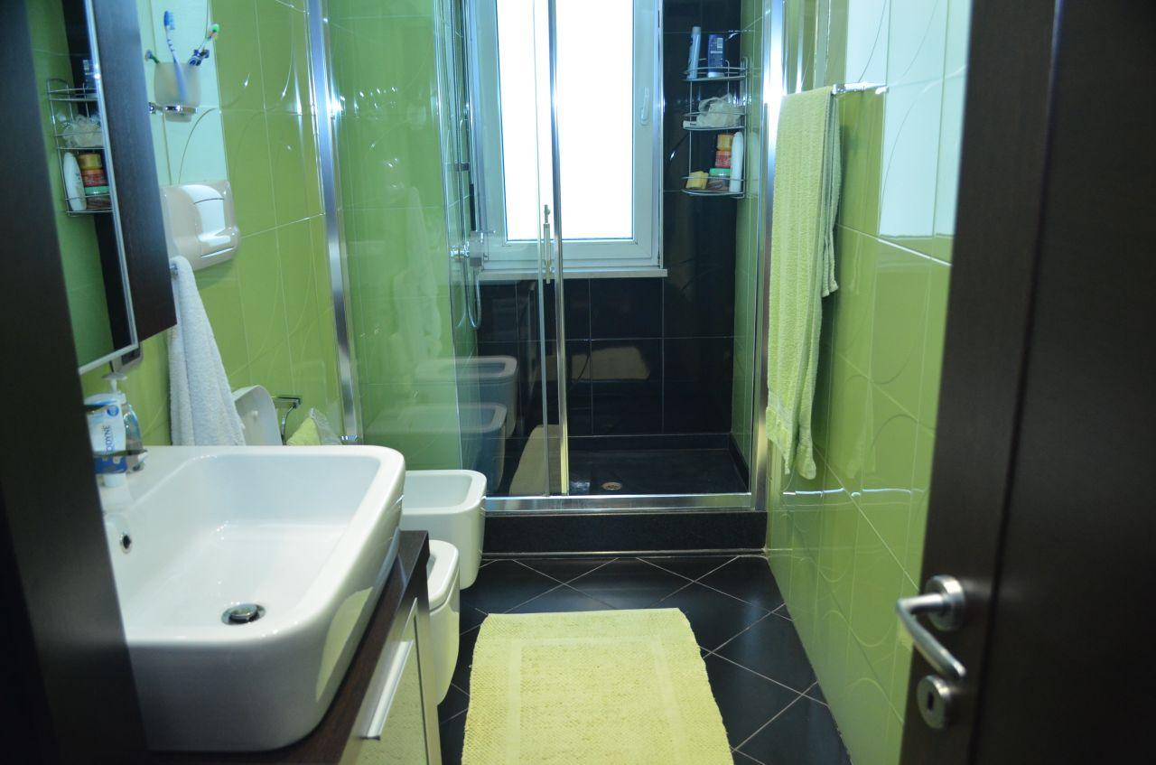 apartment for rent near mother theresa square tirana albania modern furniture