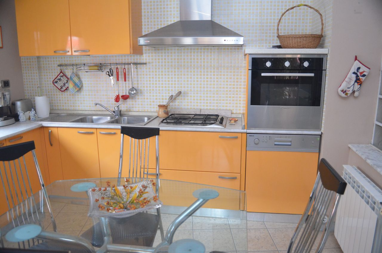 Three bedrooms apartment  for rent near the lake in Tirana, Albania in very good conditions