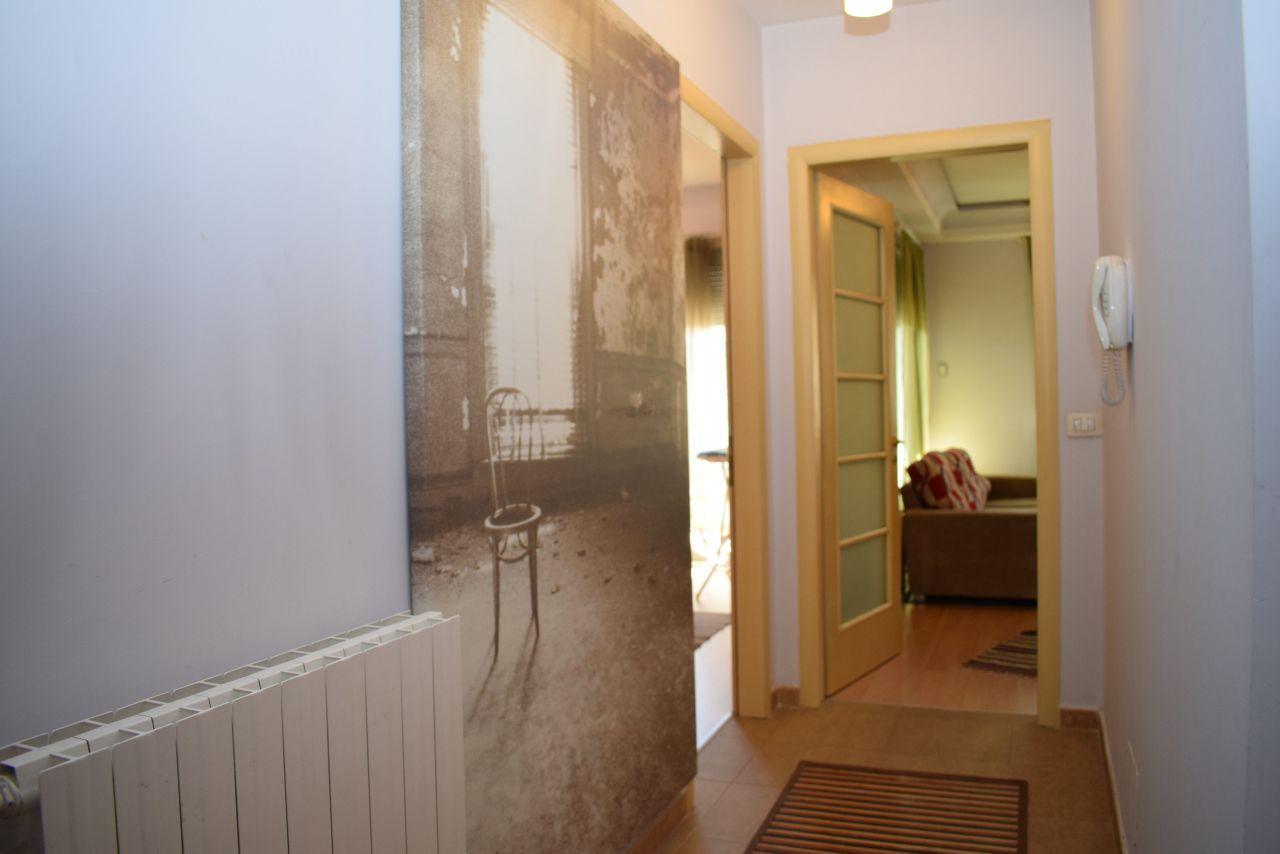 Apartament 1+1 me Qera ne Tirane
