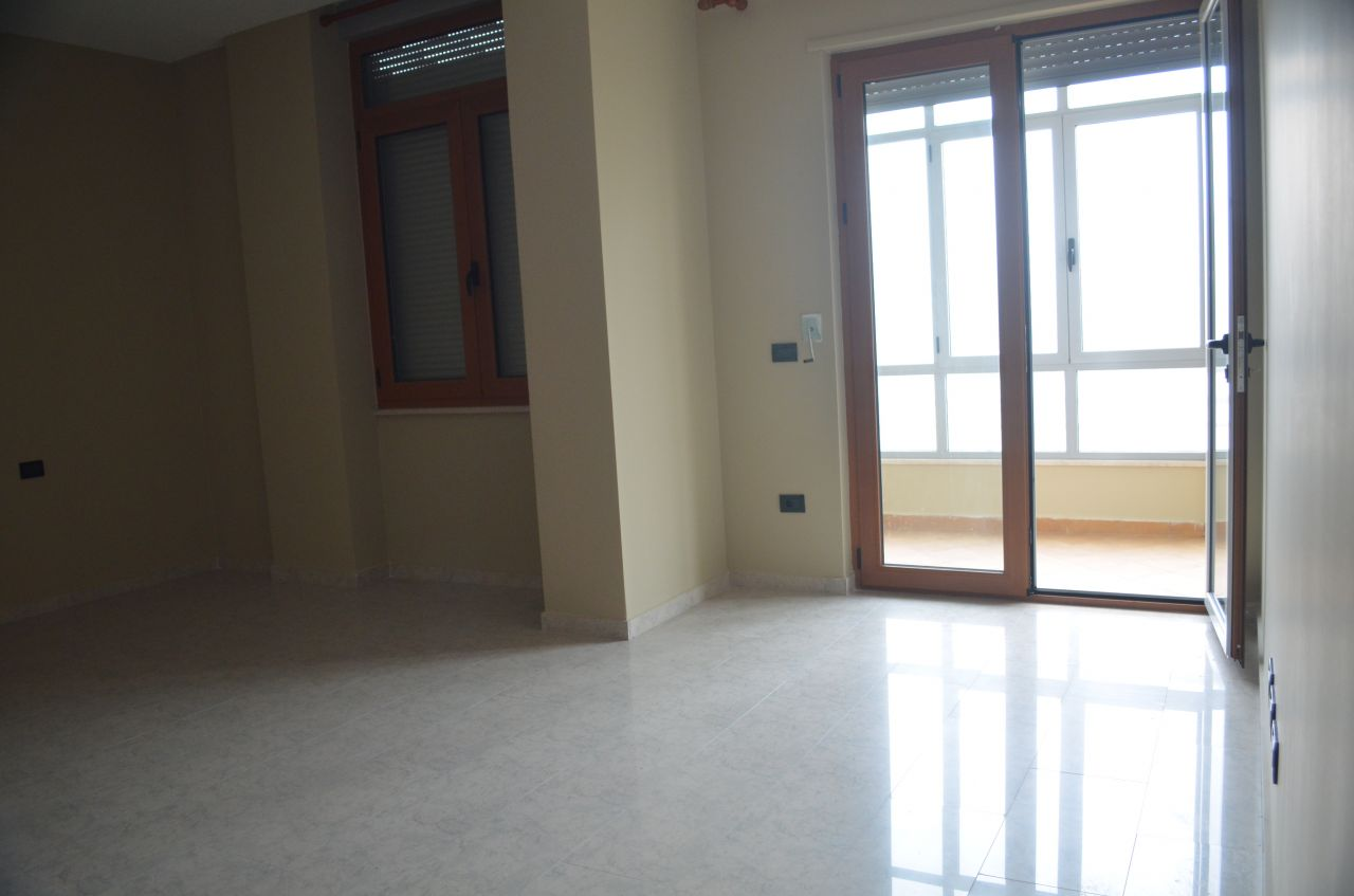 Unfurnished apartment for rent in Tirana at Blloku area