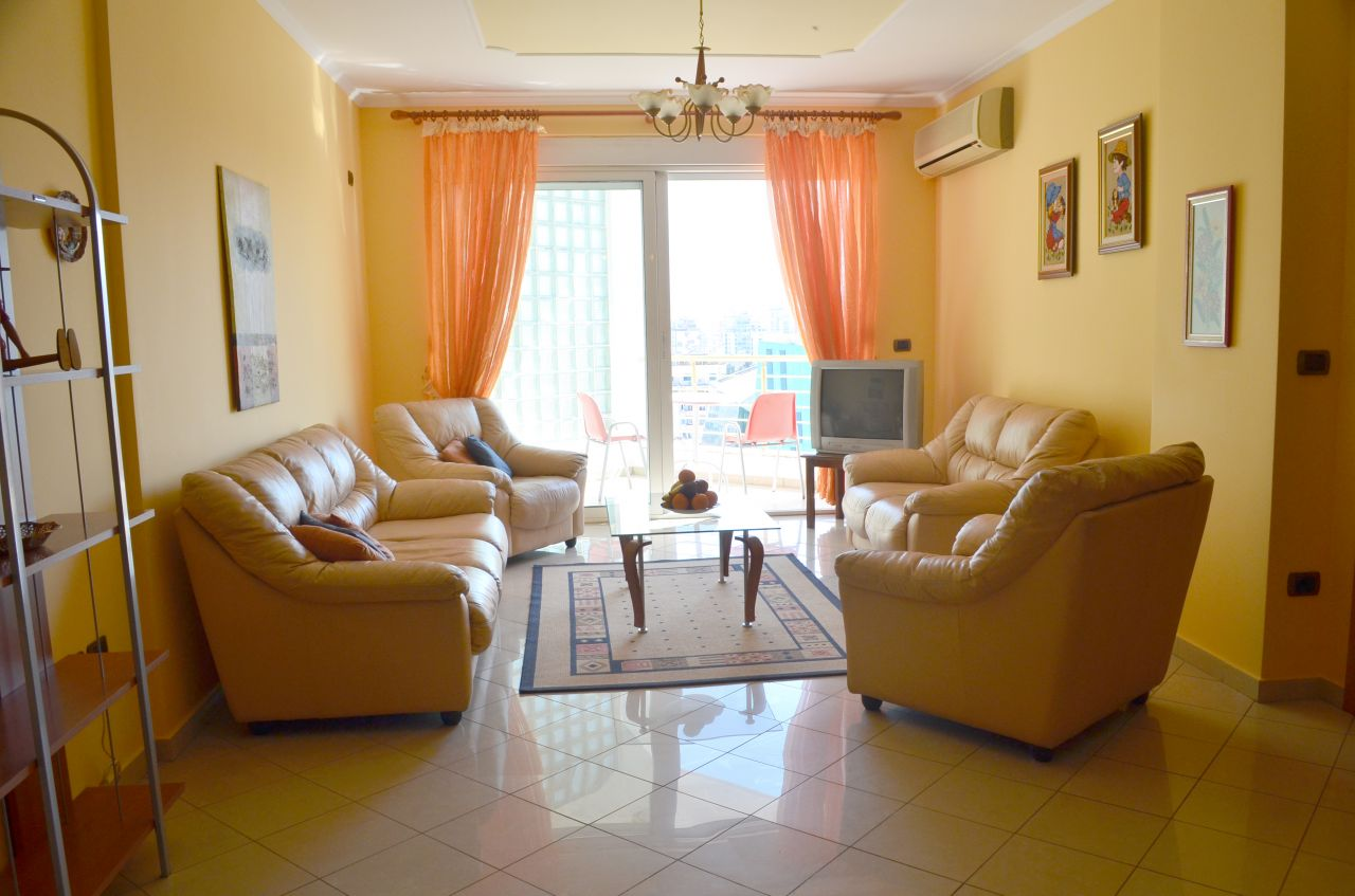 Two bedroom Apartment for Rent in Bllok area in Tirana
