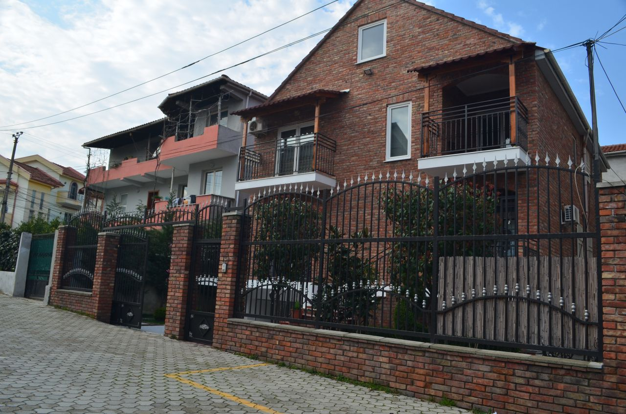 Villa for rent in Tirana, Albania. The villa has 3 floors and is located in Selite.