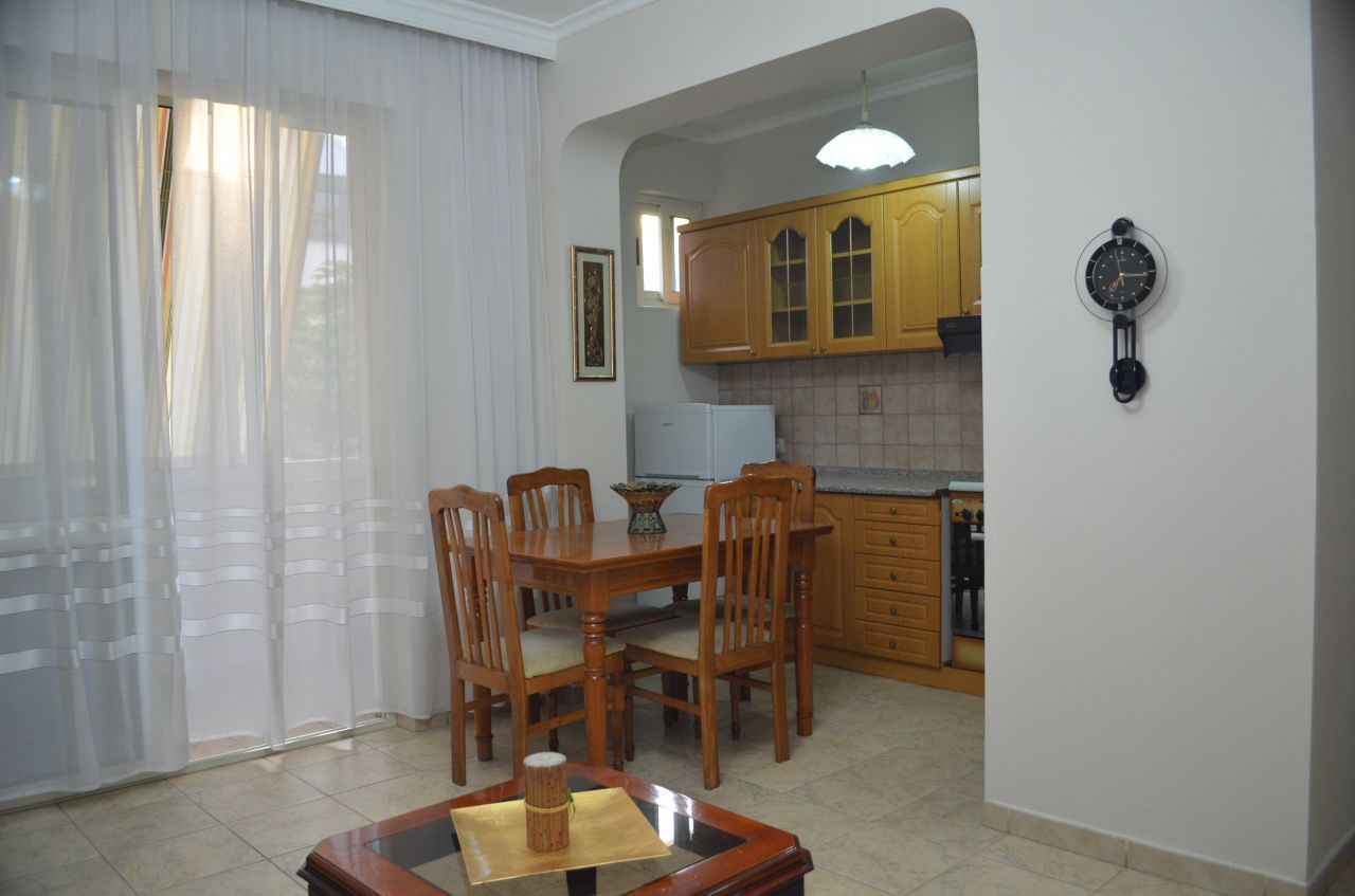 One bedroom apartment for rent in Blloku area in Tirana Albania