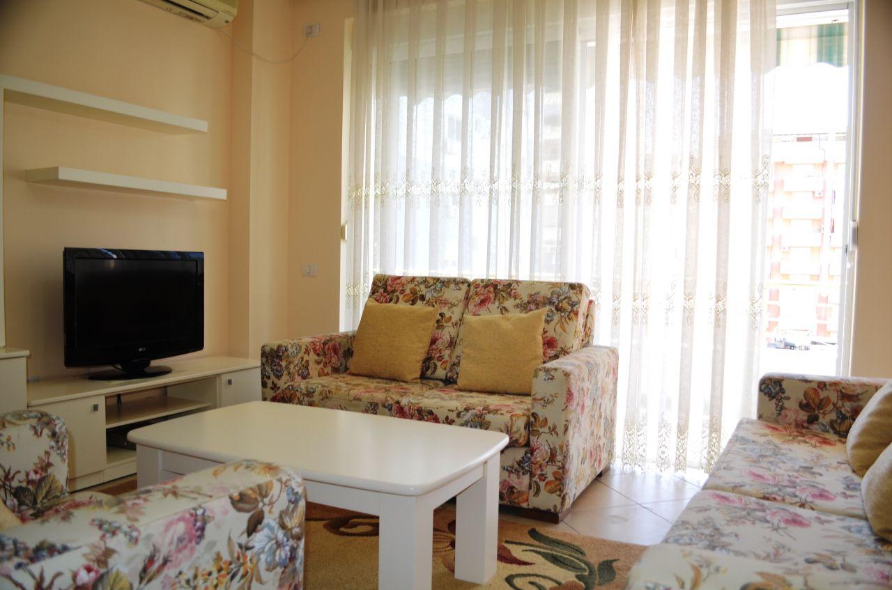 Apartament me Qira ne Tirane, ne nje zone shume te mire