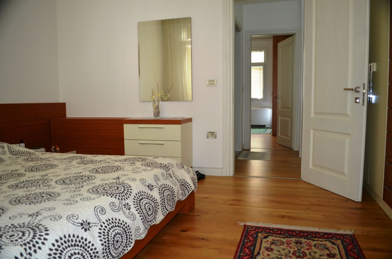 Apartment for rent at the Nobis Center, near the lake, in Tirana.