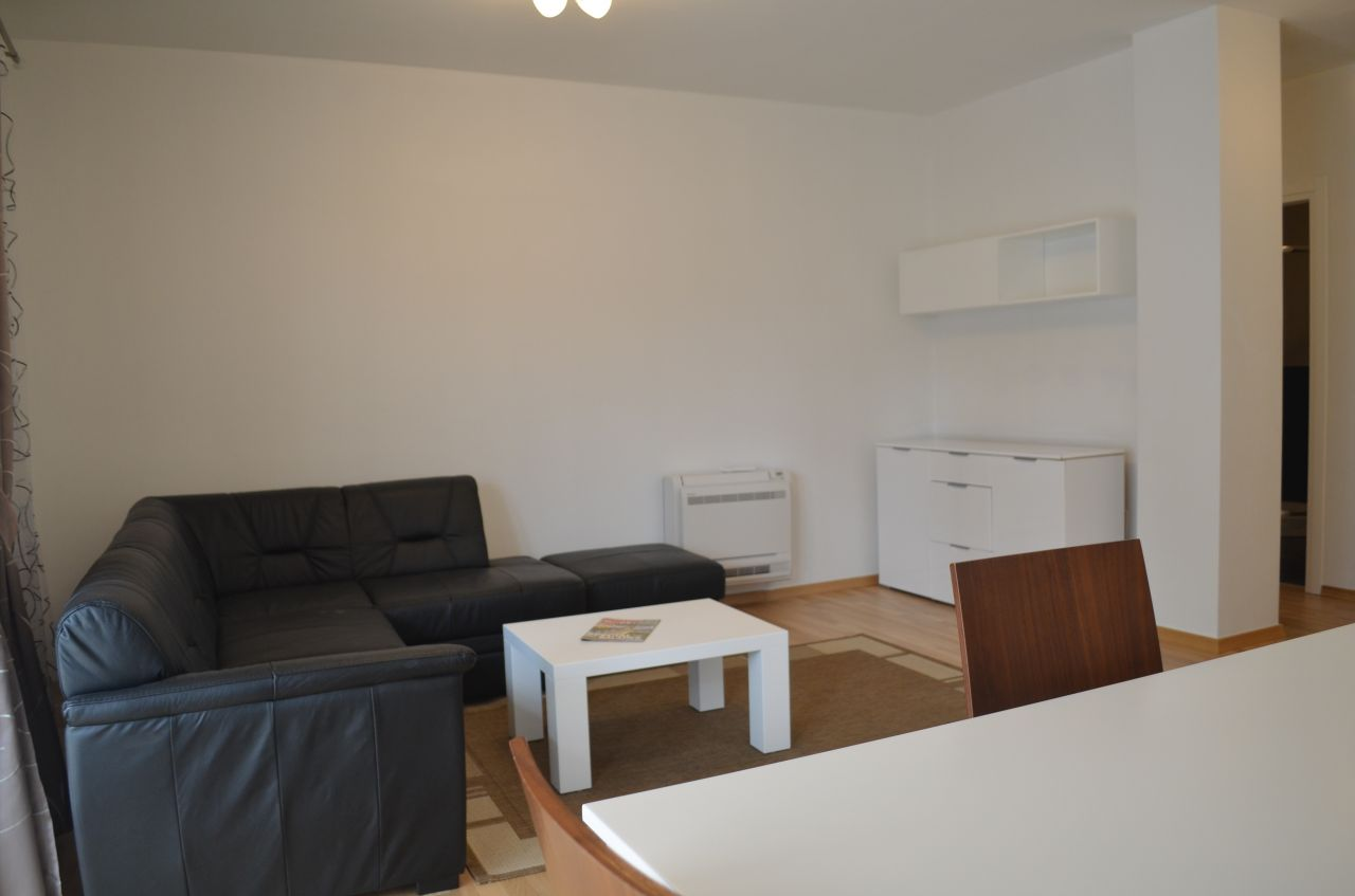 Apartment for rent in Tirana, of very good quality situated in a residential complex in Tirana. Albania Real Estate for Rent.