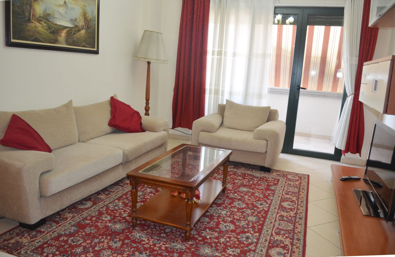 Apartment with two bedrooms for rent in Tirana