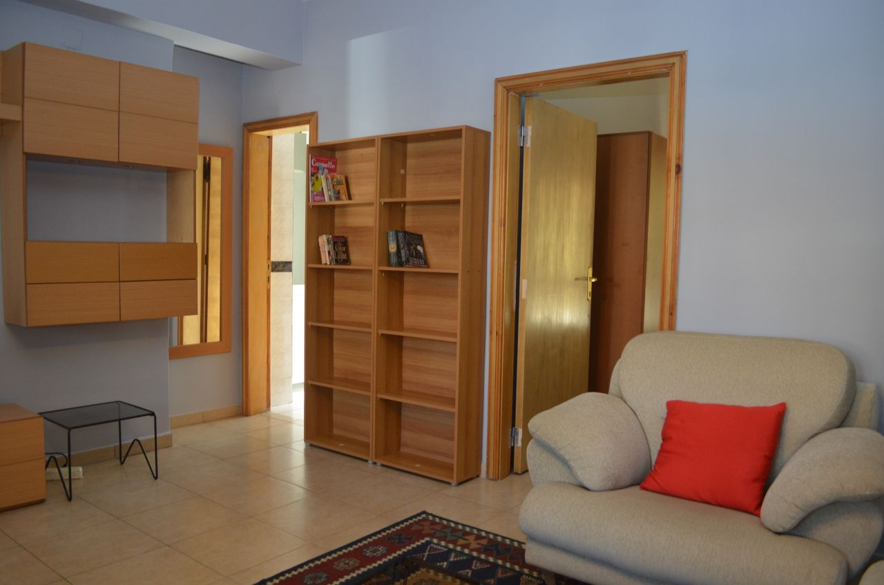Great one bedroom apartment for rent in Tirana. Located in very good position.