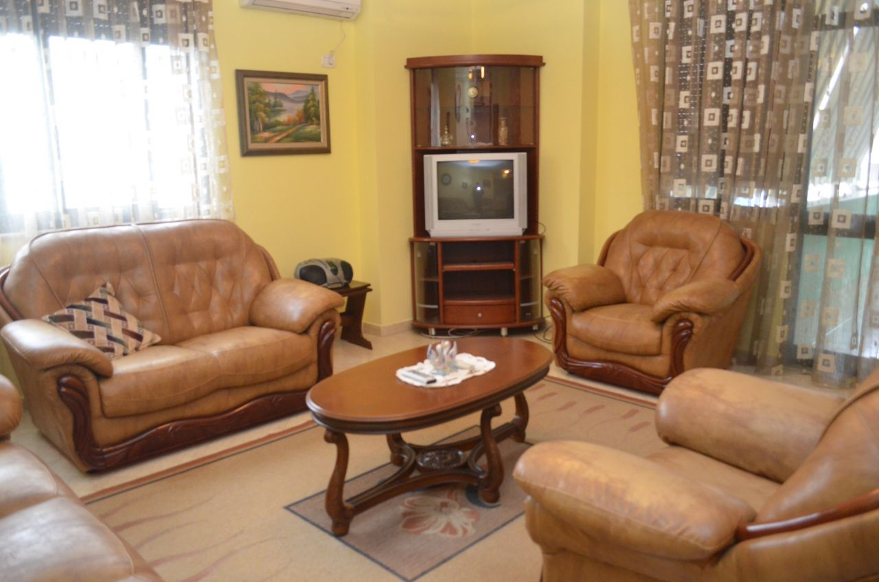 Apartment 2+1 for Rent in Tirana