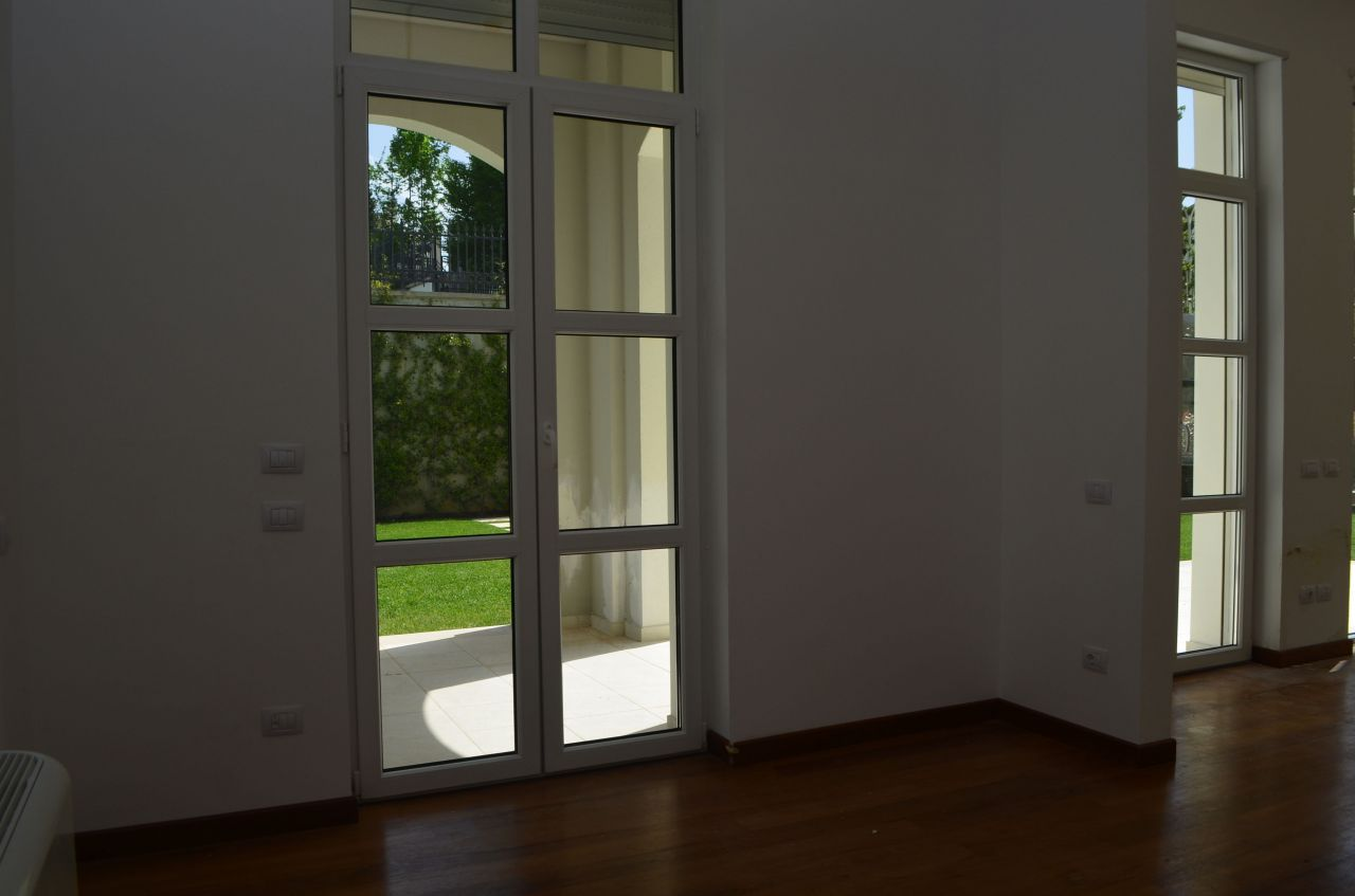 Two floos villa with a beautiful garden for rent in Tirane, Albania