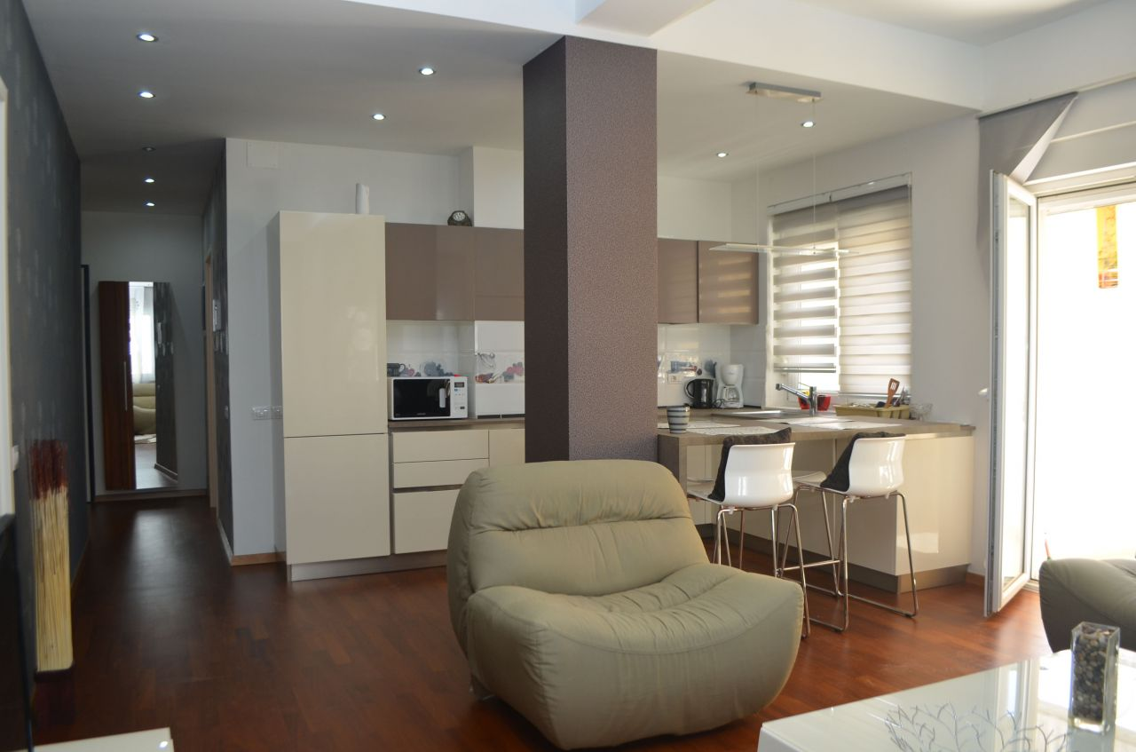 Nice two bedrooms apartment for rent outskirt of Tirana.