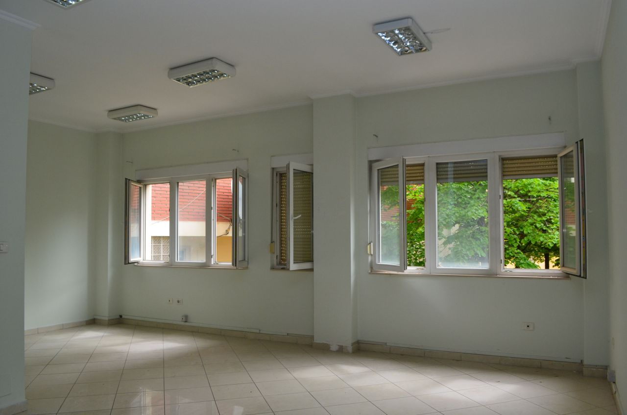 Big Office Space in Tirana for Rent. Office  in Very Good Conditions .