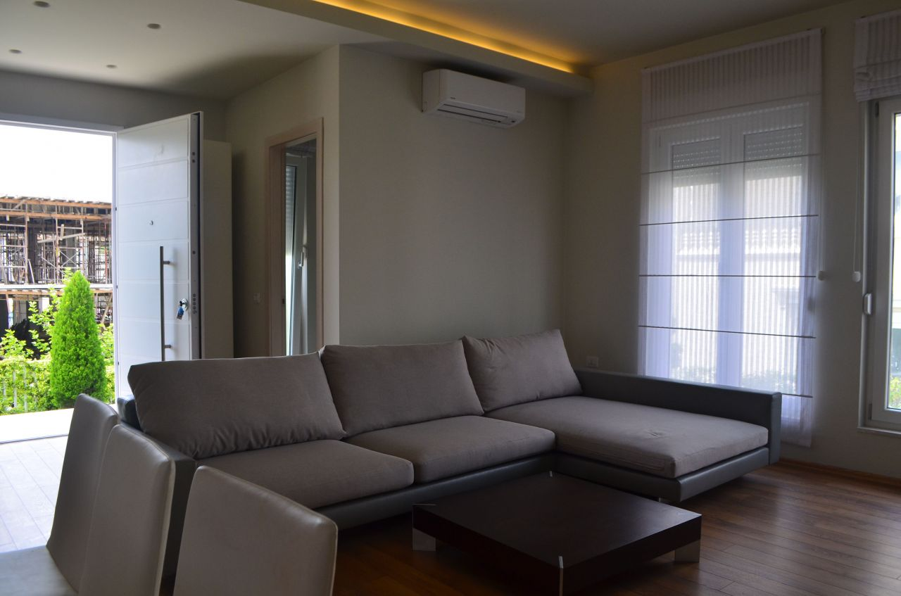 Villa for Rent in Tirana, it is newly constructed and very nice and comfortable.