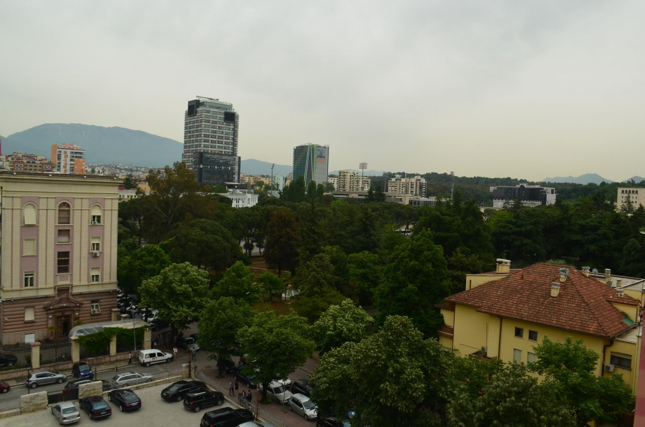 Spacious apartment for rent in Tirana. Three bedrooms for rent in Bllok area.