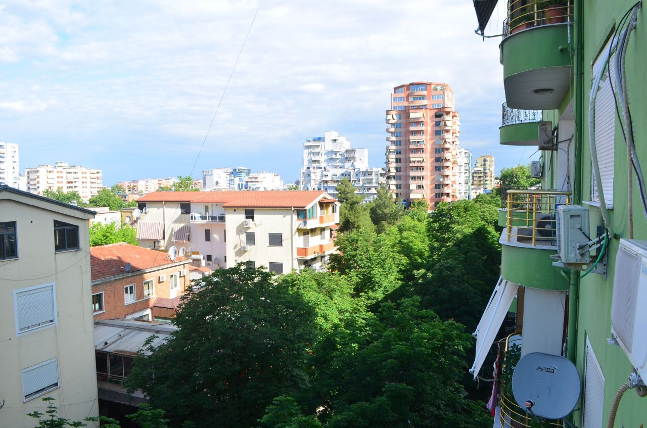 Two  bedrooms apartment for rent in Tirana . Apartment in Block area