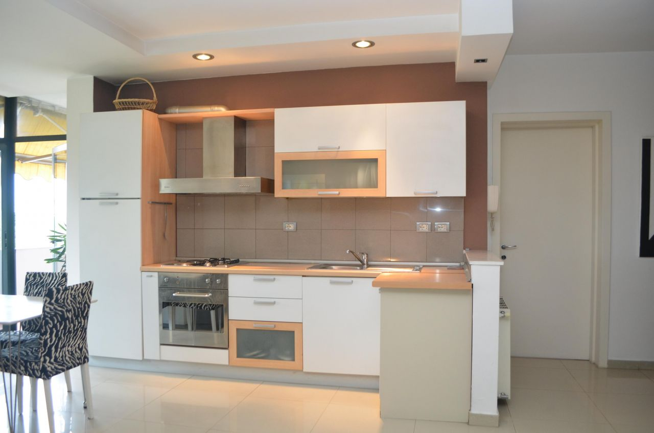 Two Bedrooms Apartment for Rent, near the main boulevard of Tirana